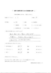 包茎治療・亀頭増大 口コミ Y.Y 33歳